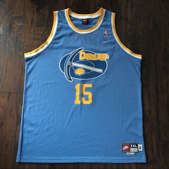 2601c274def Nike Shirts | Denver Nuggets Carmelo Anthony 15 Throwback Jersey ...